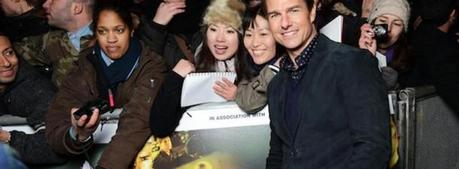 Tom Cruise alla prima mondiale del film Jack Reacher