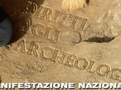 Sabato tutti piazza l'archeologia