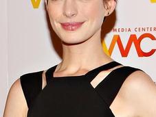 LOOK: Anne Hathaway Women's Media Awards 2012