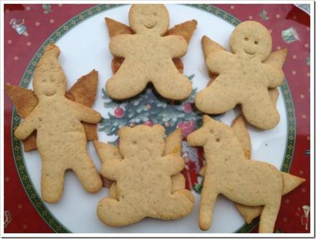 Biscotti Di Natale X Bambini.Biscotti Di Natale Per Bambini Angioletti 3d Paperblog