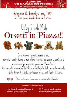 Baby Flash Mob di Natale a Torino