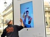 Affissione umana interattiva Samsung Galaxy Note