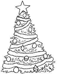 L Albero Di Natale Da Colorare Paperblog