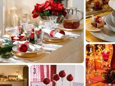 Allestire tavola Natale modo creativo