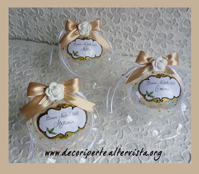 Palline di natale personalizzate paperblog for Decorazioni natalizie personalizzate