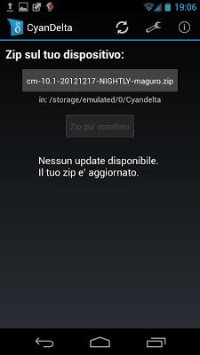 CyanogenMod: rilasciata CM10.1 Nightly 20121217 per Samsung Galaxy Nexus