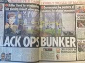massacro Newtown, tabloid inglesi colpa videogiochi