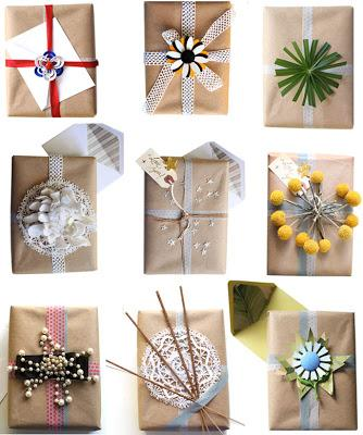 Incartare i regali di Natale: idee packaging su Pinterest