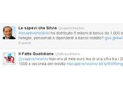 sapevi Silvio: tweet smonta Berlusconi Fatto Quotidiano