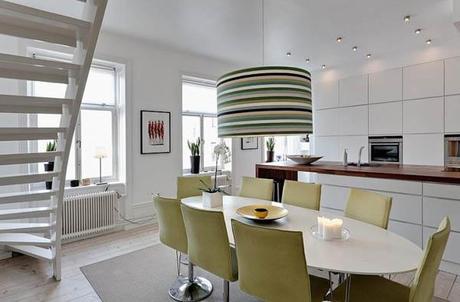 Casa svedese su due piani paperblog for Piani di casa di lusso log