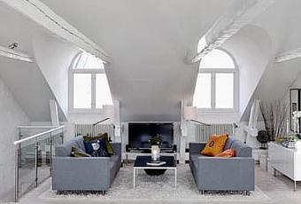 Casa svedese su due piani paperblog for Piani di casa di log in stile ranch