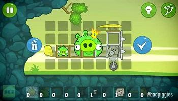 badpiggies gameplay android app