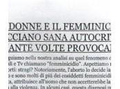 """""""Femminicidio? colpa delle donne"""". volantino della discordia: polemica"""