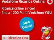 Ricarica Vodafone 1200 Punti VODAFONE regalo