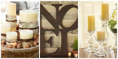 Decorazioni natalizie candele e lanterne pottery barn - Candele fatte in casa ...