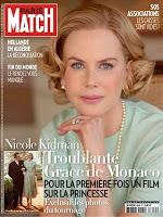 Nicole è Grace Kelly su Paris Match!