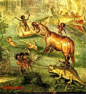 Roman Wall Paintings Of Daedalus