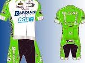 Ufficializzata nuova maglia della Bardiani-Csf
