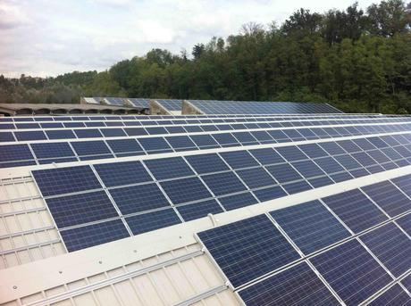 il Cotonificio Green da 940 kWp a Solbiate Olona