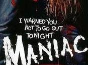 Vintage horror Maniac 1980