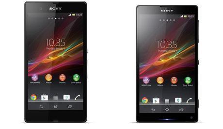 Sony Xperia Z e Xperia ZL confermati per il CES 2013!