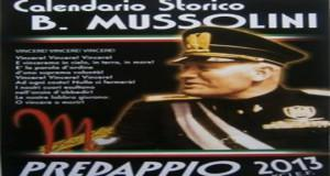 calendario mussolini 2013