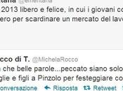 Michela Rocca Enrico Mentana: litigio moglie marito Twitter