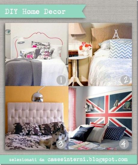 Soluzioni faidate testiera letto paperblog for Testiera letto fai da te cuscini