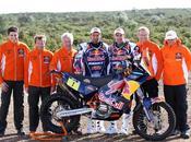 Bull Team Dakar 2013