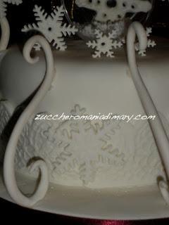 Torta fiocco di neve!