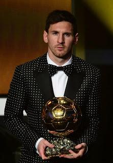 "Leo Messi in Dolce & Gabbana in Zurich for the ""Fifa Ballon d'Or"""