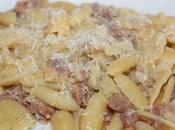 Gnocchetti sardi salsiccia topinambur