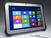 Panasonic Tablet Fully Rugged Windows pollici Android