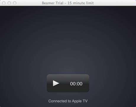 Beamer, una semplice app per trasmettere filmati dal Mac alla Apple TV