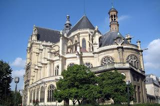 Foto della chiesa di saint-eustache di parigi
