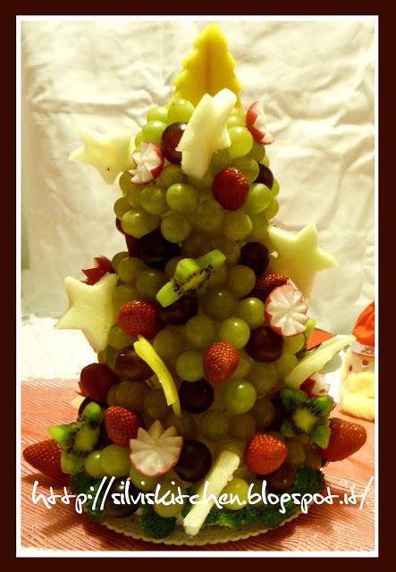 Centrotavola natalizio albero di natale di frutta paperblog - Centrotavola natale ...