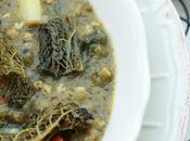 Minestra scorzonera grano saraceno