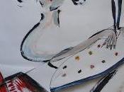 Oils flying paper self-portrait GENNAIO mio...
