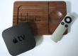 BLOC: Un elegante accessorio per Apple Tv in Noce