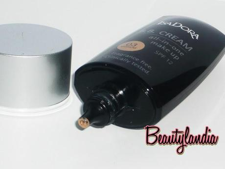 ISADORA -Recensione BB Cream All in one make up SPF 12-