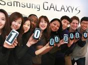 famiglia Samsung GALAXY supera milioni unità vendute