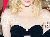 Sexy sbarazzina Emma Stone mostra reggiseno sulla cover febbraio 2013
