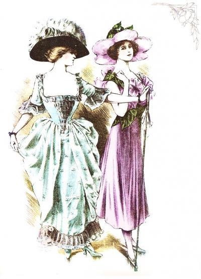 Costumi femminili da maschera per il carnevale di inizio 900 ieri oggi in cucina - Costumi da bagno femminili ...
