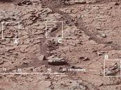 L'acqua passata Marte: depositi ricchi calcio individuati Curiosity
