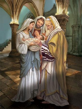Preghiera 02 febbraio presentazione di gesu 39 al tempio for Vangelo del giorno ambrosiano