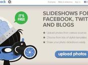 PhotoSnack crea slideshow foto condividilo online