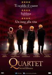Recensione film Quartet Dustin Hoffman: dolce esordio alla regia