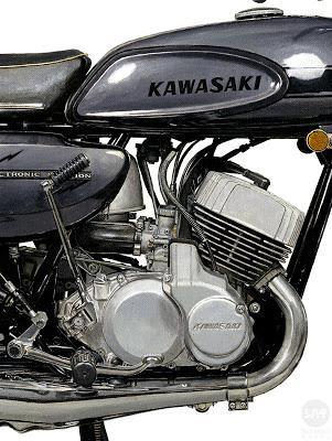 Kawasaki H1 500 Mach III - Paperblog