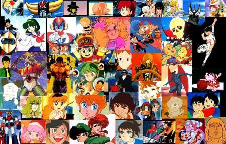 Cartoni animati anni 60 70 80 90 e 2000