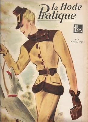 Collezionismo un vecchia rivista di moda francese paperblog for Rivista francese di campagna